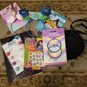8pc Headband Purse Fun Bundle